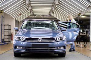 Výroba modelu Passat v Emdenu. Foto: Volkswagen