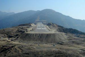 Letiště Yongphula. Foto: Slavomír Pískatý
