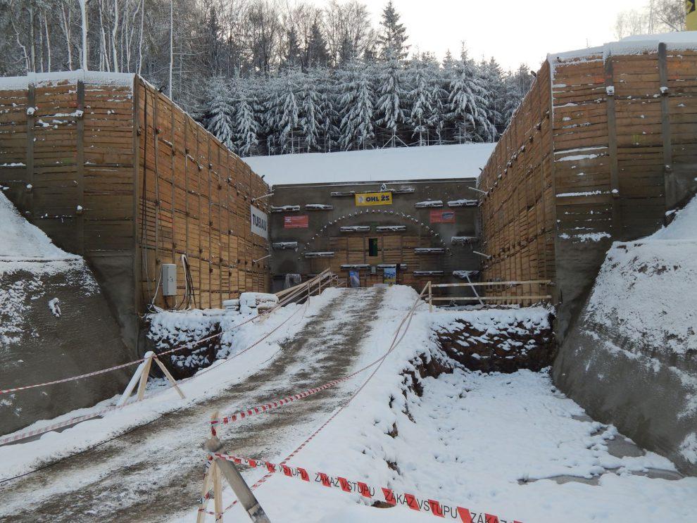 Budoucí tunel Deboreč na 4. koridoru. Autor: Zdopravy.cz/Jan Šindelář