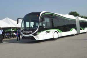 Kloubový autobus Iveco Crealis na CNG pro Abidžan. Autor: Iveco