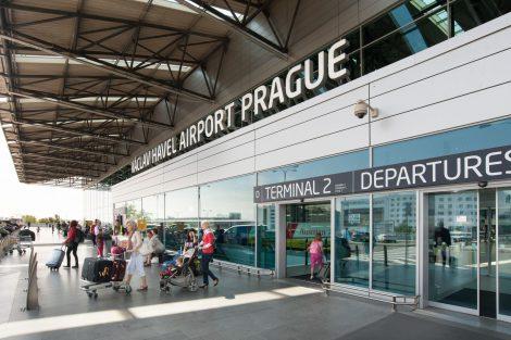 Letiště Václava Havla Praha. Pramen: Letiště Praha