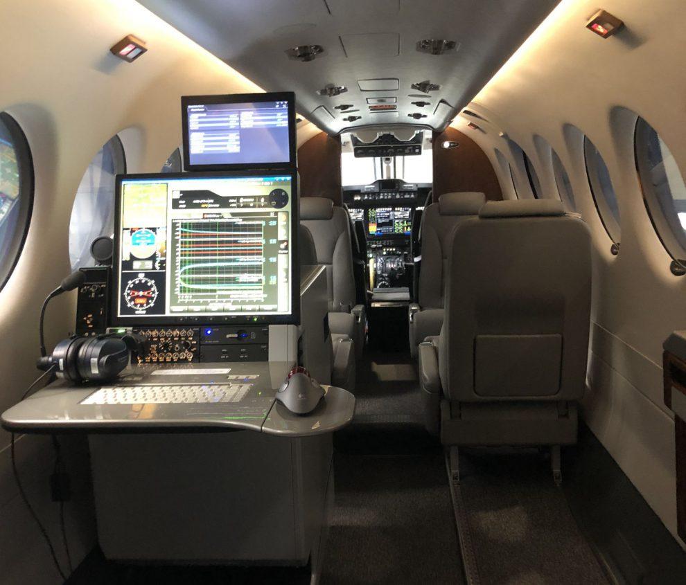 Nové kalibrační letadlo ŘLP. Pramen: ŘLP