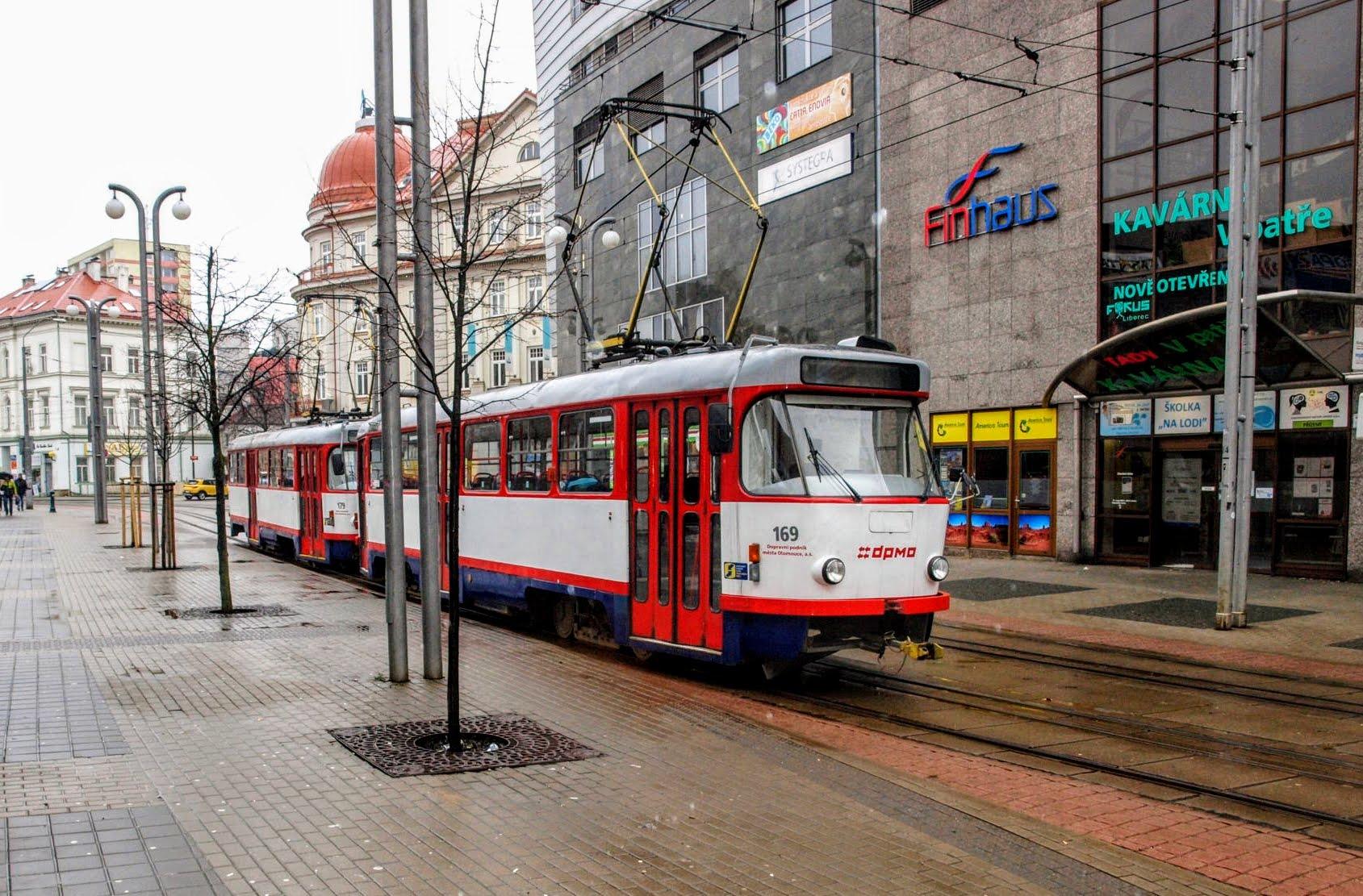 Tramvaj T3R.P první den v provozu v Liberci. Foto: DPMLJ