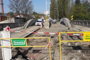 Oprava mostu v Brně. Foto: Brněnské komunikace