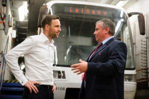 Martin Gillar (vlevo). Foto: DPP