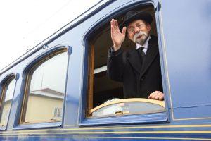 Historický vlak připomněl návrat prezidenta Masaryka do vlasti. Autor: České dráhy