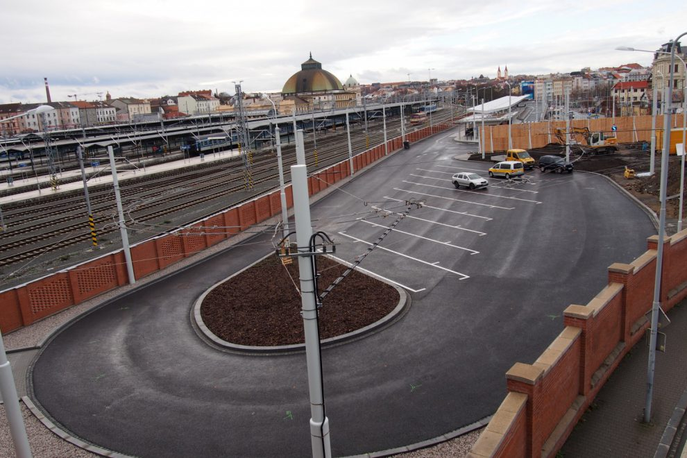 Nový autobusový terminál Šumavská v Plzni. Foto: Plzeňský kraj