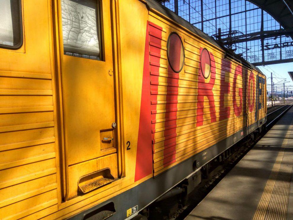 Lokomotiva řady 162 společnost RegioJet. Foto: Jan Sůra
