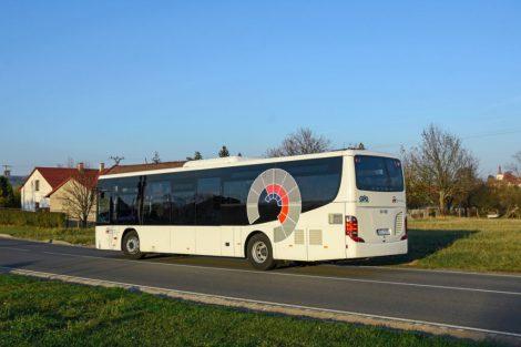 Nový autobus Setra pro provoz na Novojičínsku. Foto: ČSAD Vsetín