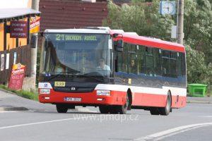 Autobus SOR NB12 v Plzni. Foto: PMDP