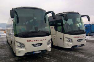 Nový autobus VDL 148 pro ČSAD Liberec. Foto: Jan Sůra