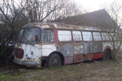 Pojízdná prodejna Škoda 706 RTO. Pramen: Milktrans