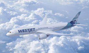 Boeing 787-9 Dreamliner v barvách WestJet. Foto: Boieng