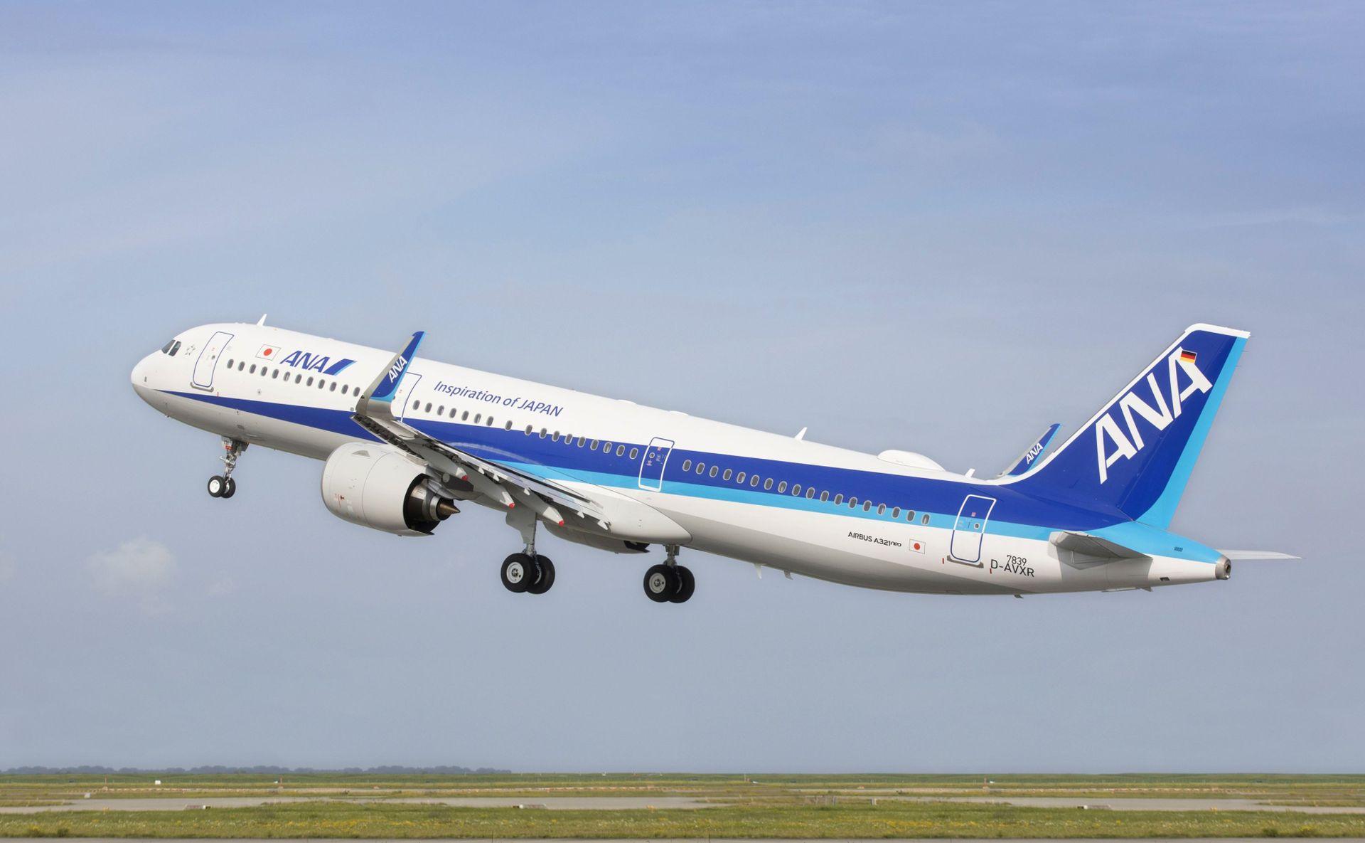 Airbus A321neo společnosti All Nippon Airways. Foto: Airbus