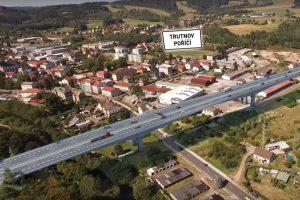 Trasa D11 v Trutnově. Foto: Ředitelství silnic a dálnic