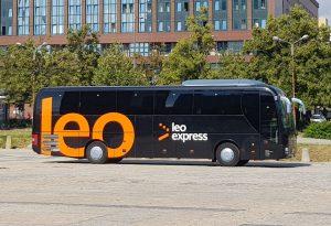 Autobus Leo Expressu. Pramen: Leo Express
