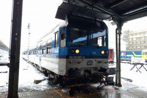 Nehoda spěšného vlaku v Liberci. Autor: Drážní inspekce