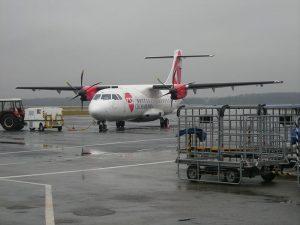 Obrázek letounu ATR42 Českých aerolinií na ostravském letišti patří od ledna 2019 do historie. Autor: Wikipedia, flyJacob – má práce
