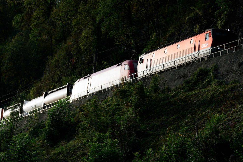 Nákladní vlak Rail Cargo. Autor: © RCG/David Payr