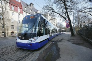 Tramvaj Škoda ForCity Alfa, Riga. Autor: Škoda Transportation