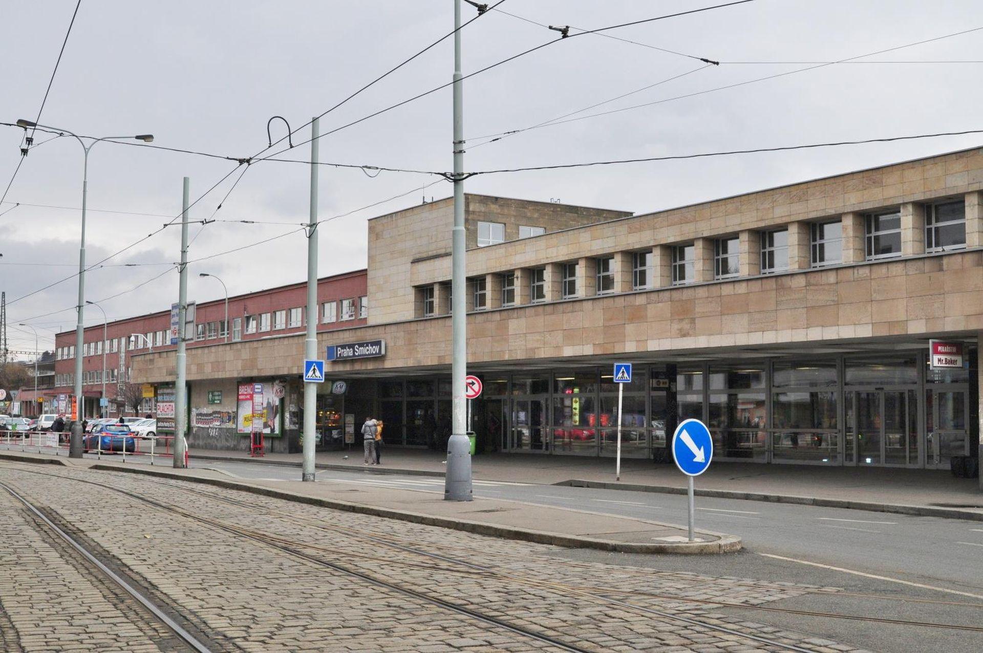 Nádraží Praha-Smíchov. Pramen: FB SŽDC