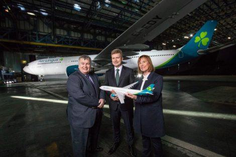 Představení nového zbarvení letadel Aer Lingus. Foto: Aer Lingus