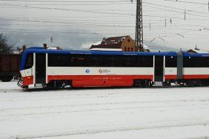 Motorová jednotka řady 813 pro KŽC Doprava