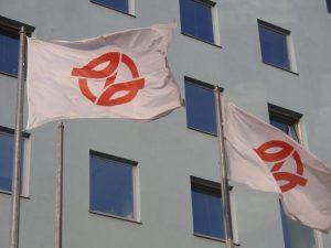 Logo Dopravního podniku hl. města Prahy. Foto: DPP