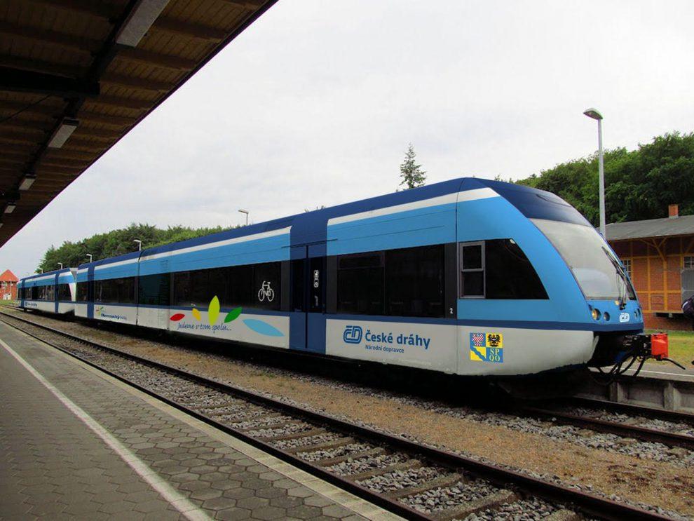 Jednotka Stadler GTW pro České dráhy. Foto: ČD