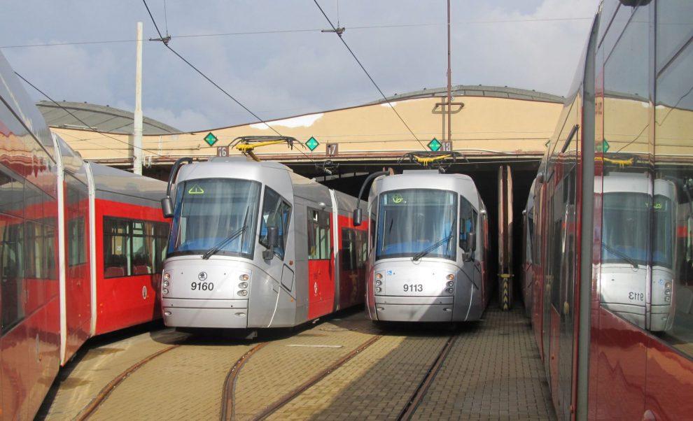 Vozovna Hloubětín. Foto: Metroprojekt
