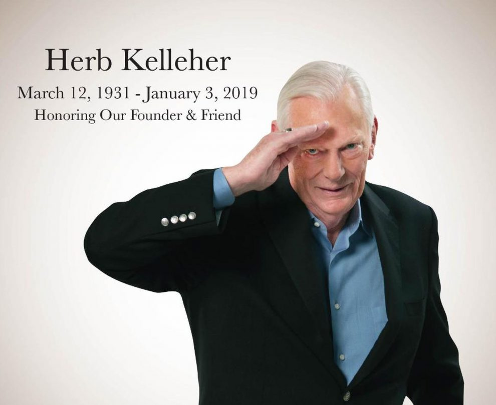Herb Kelleher. Foto: Southwest Airlines