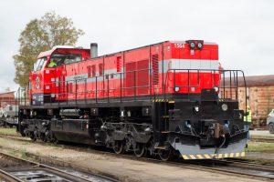 Lokomotiva C30-M od CZ LOKO. Pramen: CZ LOKO