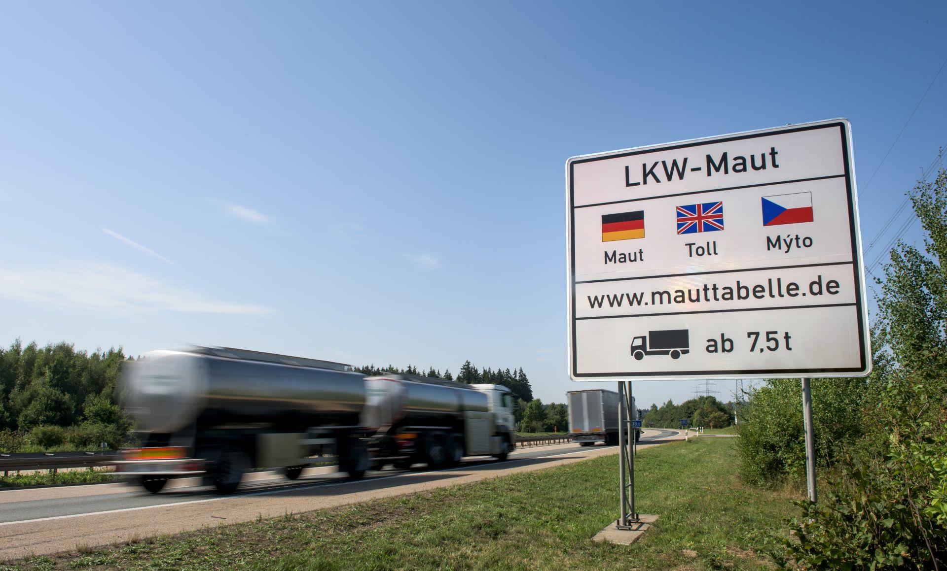 Mýto v Německu se vybírá pomocí satelitní technologie. Foto: Toll Collect