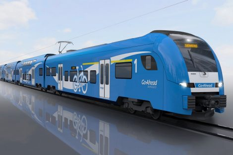 Pětivozová jednotka Siemens Desiro HC. Foto: Siemens