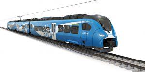 Elektrická jednotka Siemens Mireo pro Go-Ahead. Foto: Siemens