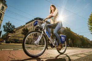 Jízdní kolo společnosti nextbike. Foto: nextbike