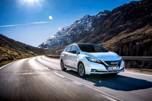 Nissan Leaf kraluje prodejům elektromobilů i v ČR. Foto: Nissan