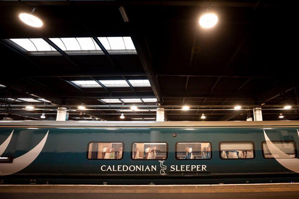 Nový vlak Caledonian Sleeper. Foto: Serco