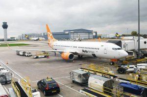 Boeing 737-800 ukrajinské společnosti SkyUp Airlines. Foto: SkyUp