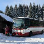 Autobus ČSAD Liberec na Smědavě. Foto: Korid LK