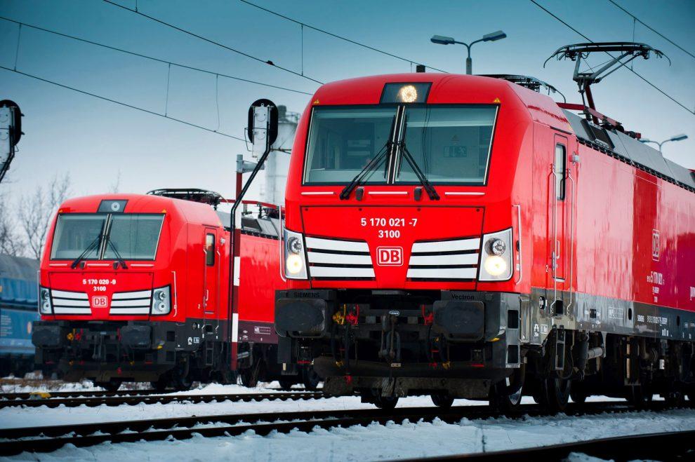Lokomotivy Siemens Vectron v barvách DB Cargo. Foto: Siemens