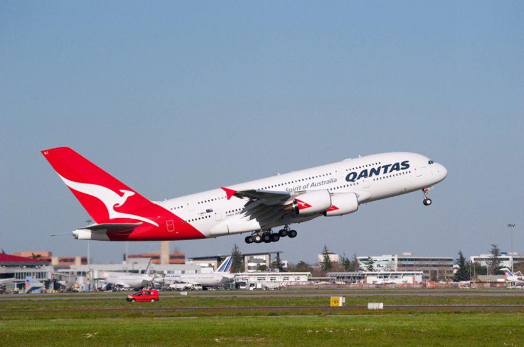 Airbus A380 společnosti Qantas. Foto: Airbus