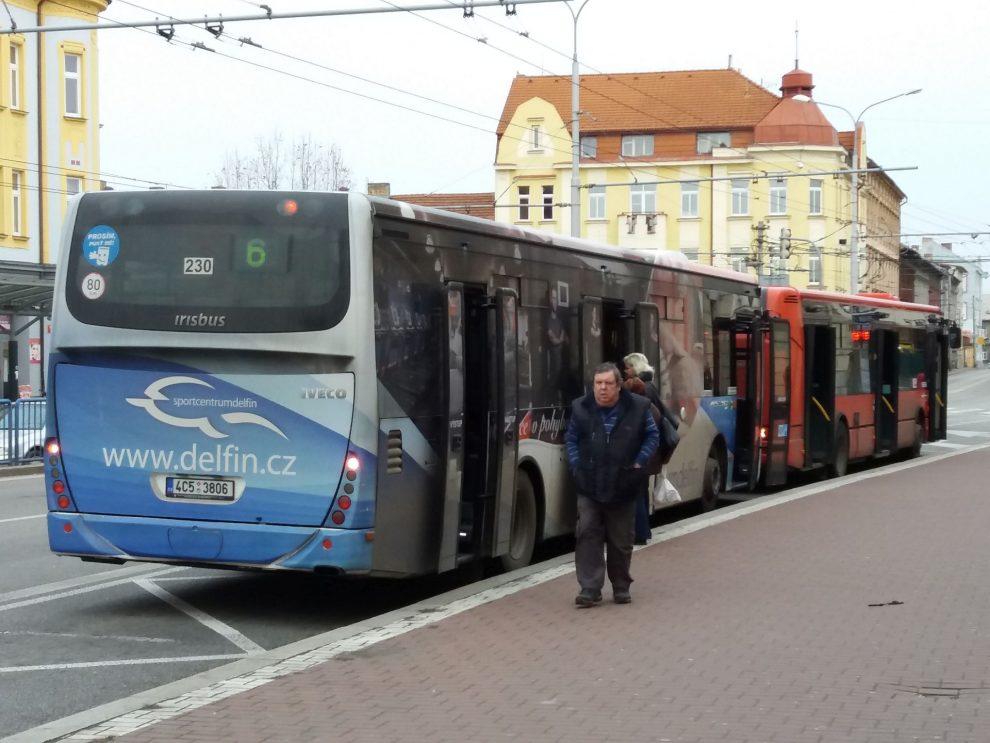 Autobusy MHD České Budějovice. Autor: Zdopravy.cz/Jan Šindelář