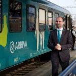 Daniel Adamka, šéf skupiny Arriva Transport Česká republika. Pramen: Arriva