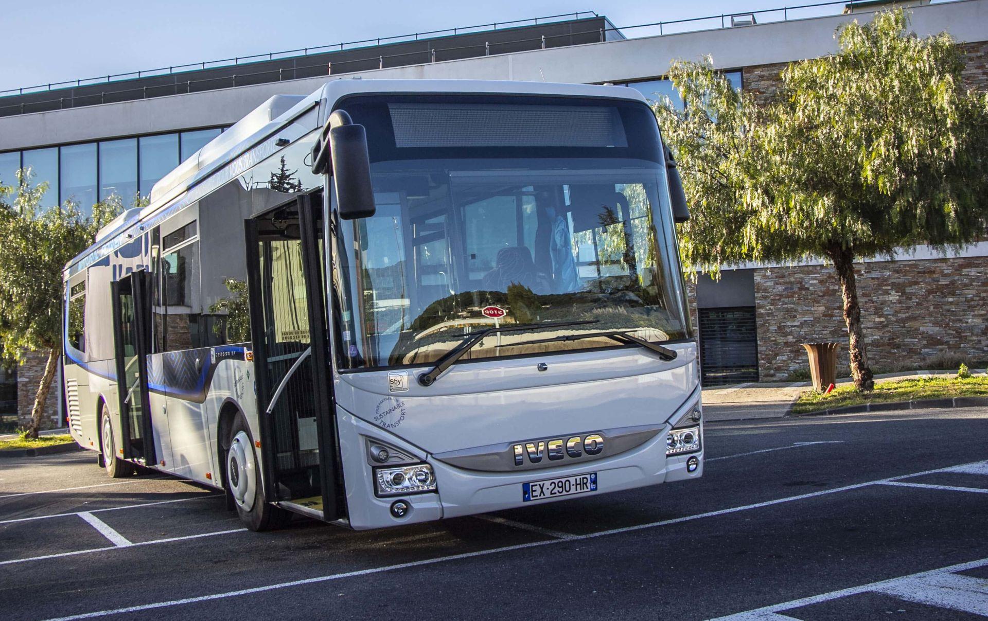 Autobus Iveco na zemní plyn. Autor: Iveco