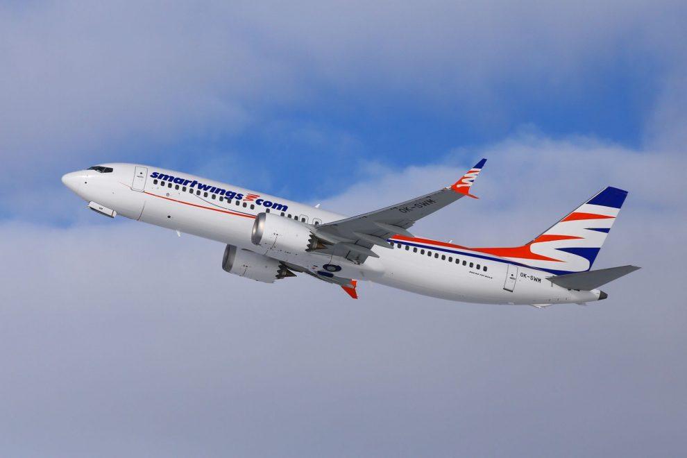 Boeing 737 MAX 8 OK-SWM společnosti Smartwings. Foto: Smartwings