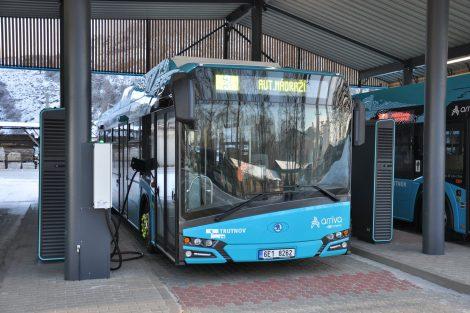 Nová vozidla trutnovské MHD. Pramen: Arriva