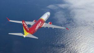 Boeing 737 MAX v barvách VietJet. Foto: Boeing
