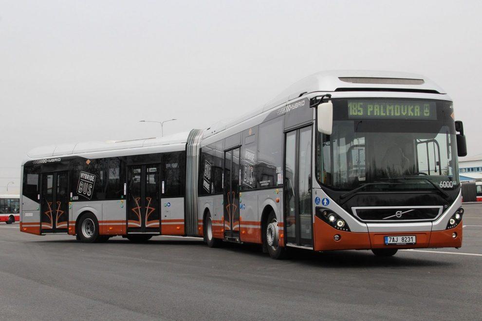 Hybridní autobus Volvo 7900 LAH. Autor: Ondřej Volf (DPP)