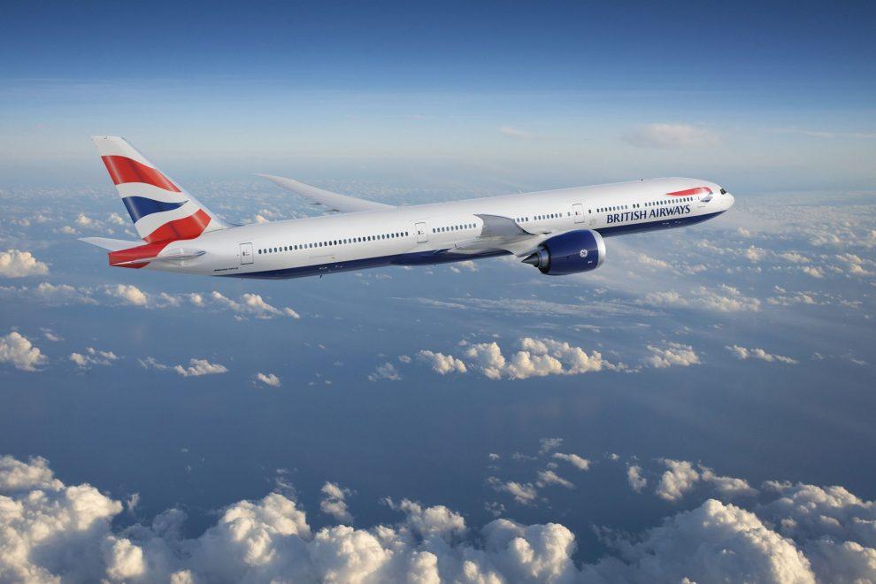 Boeing 777-9 v barvách British Airways. Foto: Boeing